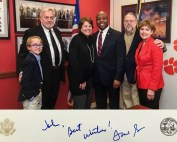 FLA Meeting in DC Feb 2018 _John Gifford and Senator Tim Scott-South Carolina