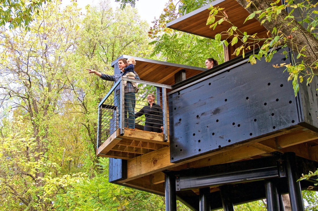 New River Train Observation Tower