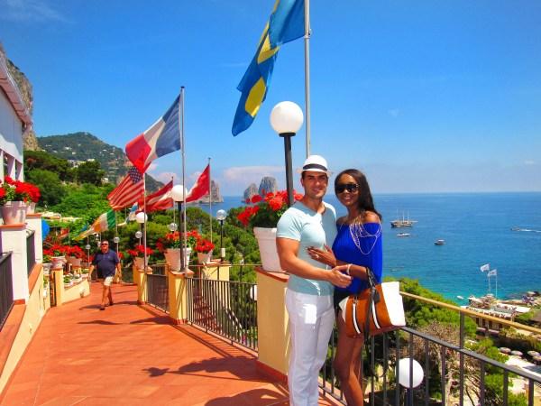 hotel weber ambassador MARINA PICCOLA CAPRI ITALY AMALFI COAST
