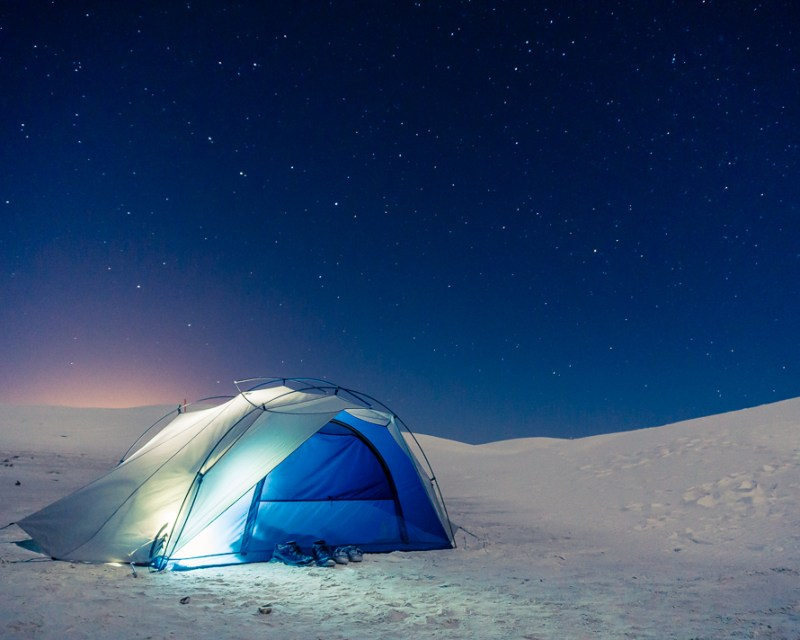white sands backcountry camping - Things To Do in White Sands NM by popular Dallas travel blogger Foreign Fresh and Fierce