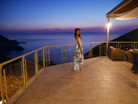 blue hour best photo locations in Santorini Greece