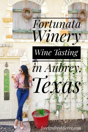 Fortunata Winery - Wine Tasting in Aubrey Texas