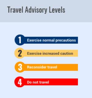 coronavirus travel tips Travel Advisory levels