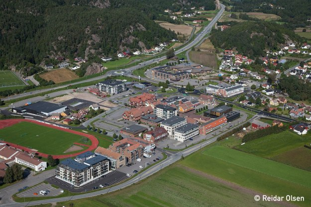 Tangvall - Søgne sentrum