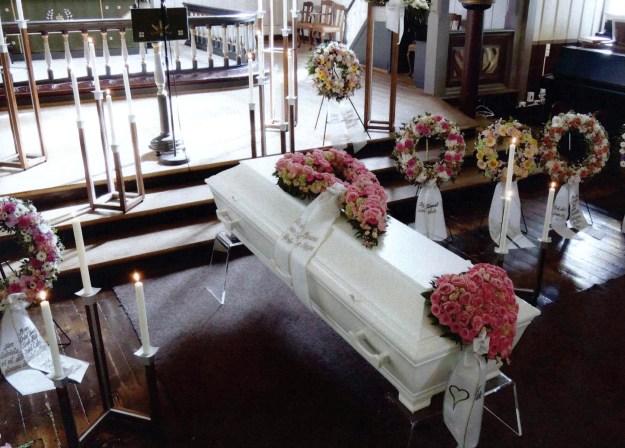Kisten til Gabriela, i Søgne hovedkirke