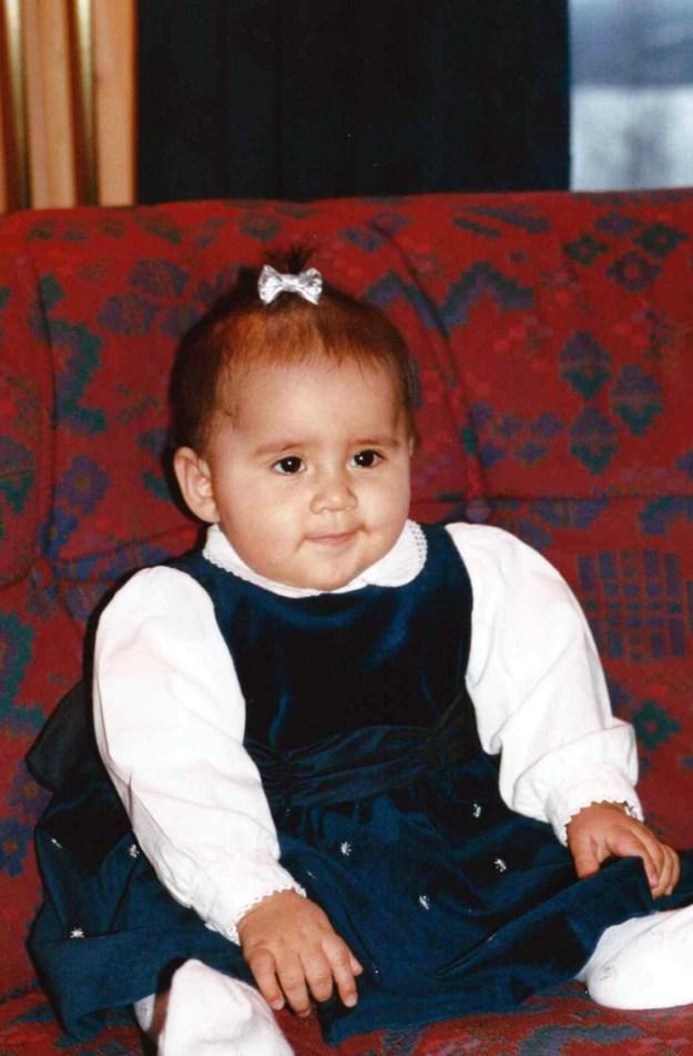 Julen 2001 var Gabrielas første jul