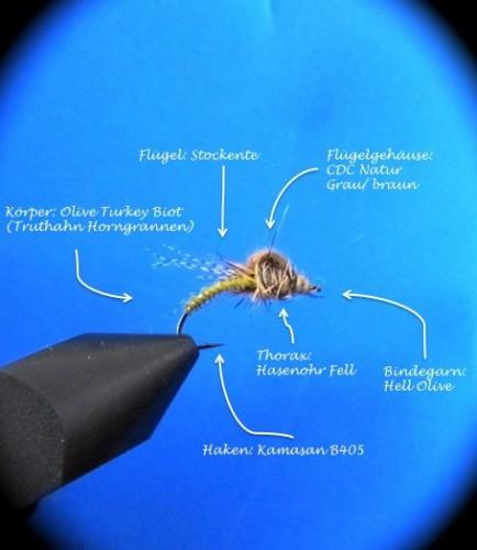 Fliegenbinden CDC Loop Emerger