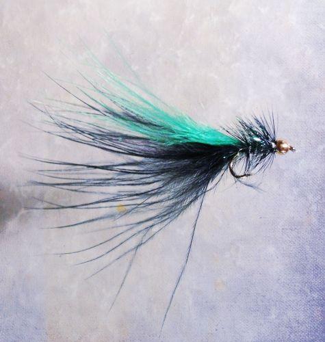 Fliegenfischen Rhein Woolly Bugger