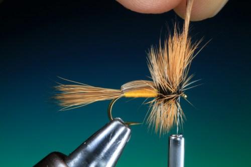 Forelle Äsche Fliegenbinden Barry Ord Clarke Humpy20