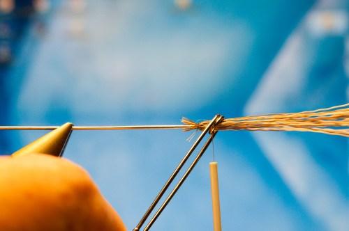Forelle Äsche Fliegenbinden Schnake Crane Fly Daddy Long Legs6