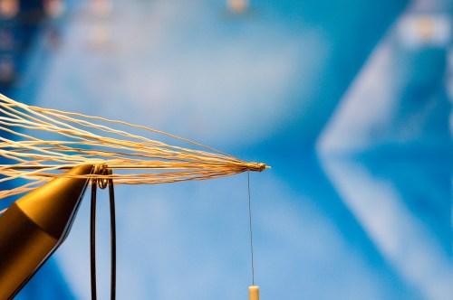 Forelle Äsche Fliegenbinden Schnake Crane Fly Daddy Long Legs7