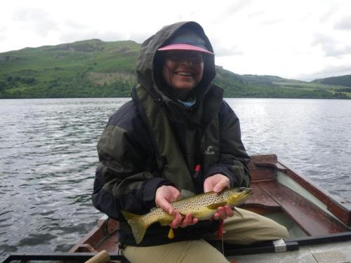 Fliegenfischen Lake Distric Forelle