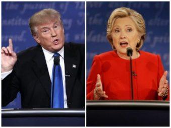 Hillary Clinton a Donald Trump i środowisko
