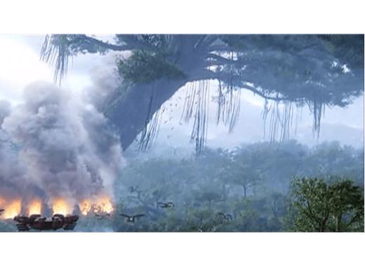 Avatar destrukcja drzew