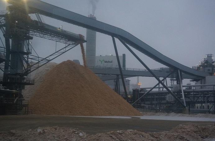 Metsä Group's bioproduct mill in Äänekoski forest industry