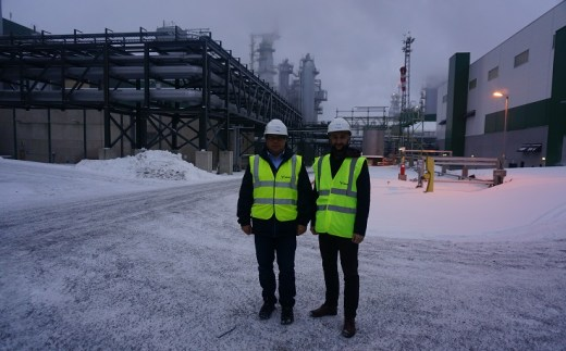 Together with professor Jacek Siry, we had a chance to visit Metsä Group's bioproduct mill in Äänekoski during 2017 Bioeconomy Investment Summit.