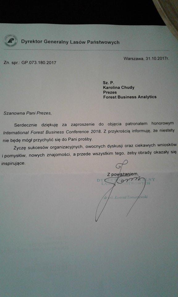 Rafał Chudy: Co zawdzięczam Lasom Państwowym?
