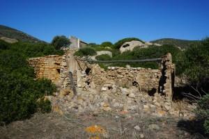 Nuraghe on the Asinara Island
