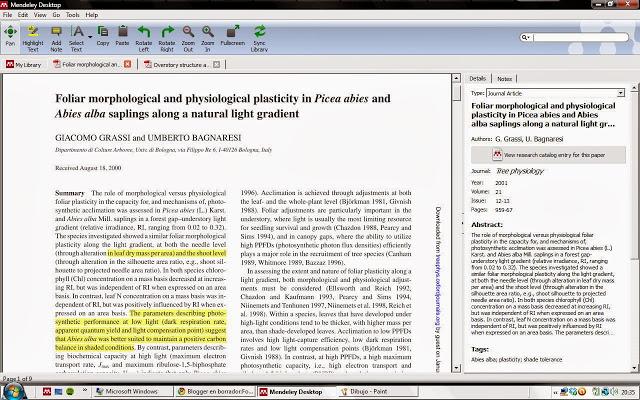Mendeley (II): gestión de pdfs