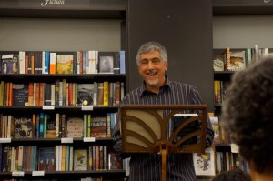 Rob reads from The Sound of Songs Across the Water at Annie Bloom's Books this fall.