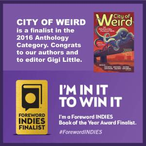A finalist for the INDIES awards!