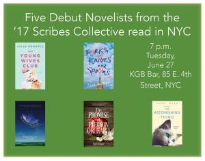 '17 Scribes Reading in NYC
