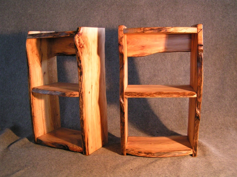 Plein Tree Rustic Shelf Forest Creations