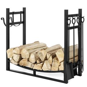 Best_Choice_Products_43.5in_Steel_Firewood_Log_Storage_Rack_Accessory_for_Kindling_Holder