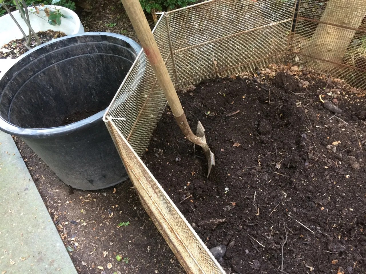 11- Finished compost