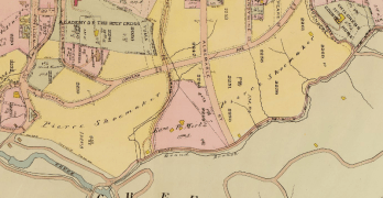 """History: Why Albemarle St. is not an """"attractive thoroughfare… from AU to Mount Pleasant"""""""
