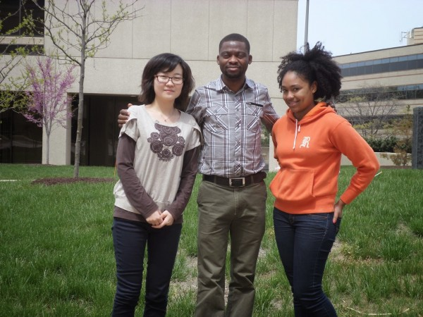 Introducing your 2014 farmers market staff: Xiangling Shi, Isaac Gembi and Kelli Webster