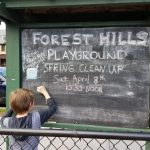 Forest Hills Playground's community spring cleanup is on April 8