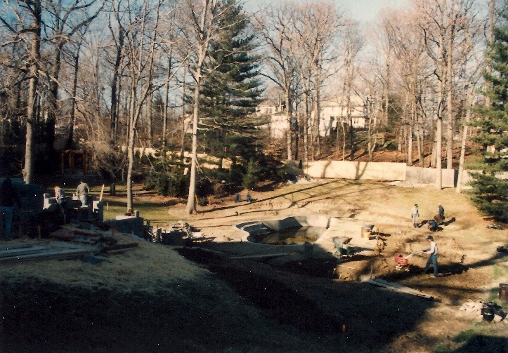 Beginning construction in 1985.