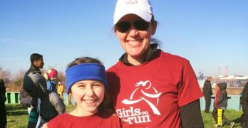 What I do: Get girls running for their physical and emotional health