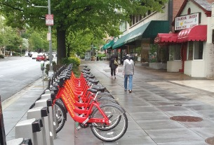 The new Capital Bikeshare station on Connecticut between Yuma and Albemarle.