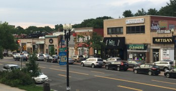 Some of the Cleveland Park business district