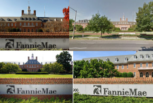 The photos that go with every story about Fannie Mae, ever. (from Getty Images, City Paper, Reuters)