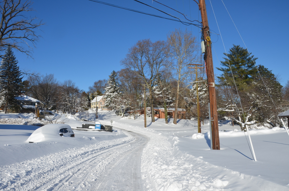 A look at the intersection of Fessenden and 32nd Streets and Broad Branch Terrace