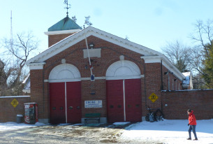 DCFD Engine Co. 31's station at 4930 Connecticut (photo by Marlene Berlin)