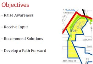 Ped Safety Objectives