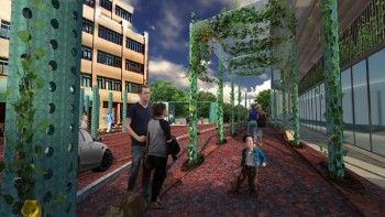 This rendering of Windom Place by architect Travis Price is just one idea for Van Ness. What is yours?