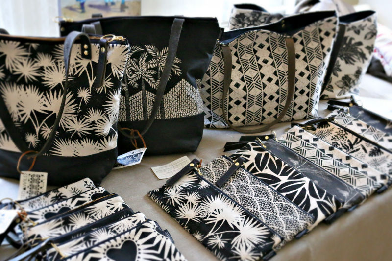 Printed Wild by French-American designer Eva Calonder (photo courtesy of Jules Conley)