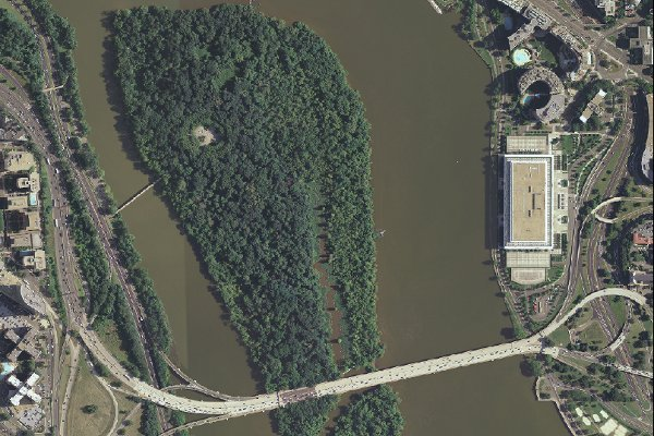 Fig.3 - Theodore Roosevelt Island, 101 acres (Image provided by NPS)
