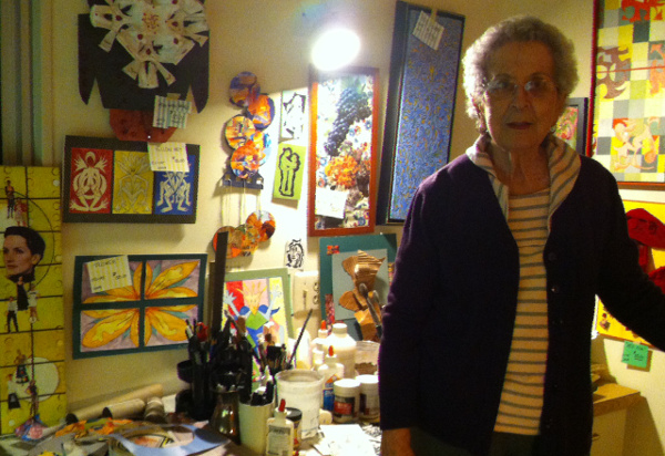 Rose Mosner and art