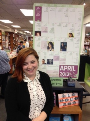 Sarah Baline, the events coordinator at Politics and Prose, organizes hundreds of events for the bookstore.