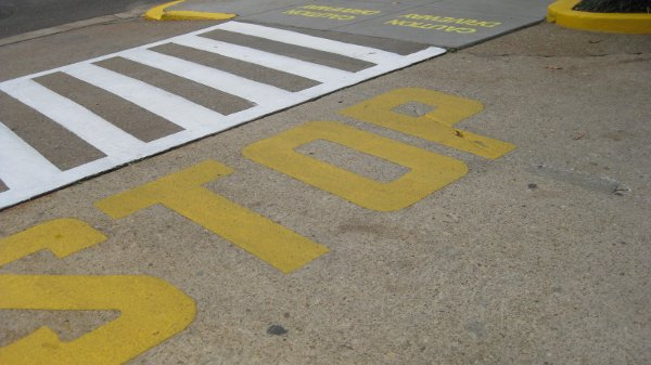 Sidewalk Driveway intersection 2828 Conn Ave