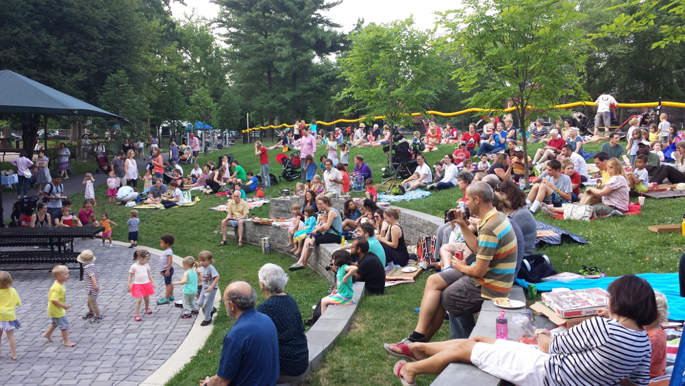 Spread Love concert Forest Hills Park June 24