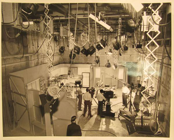 """WMAL-TV New Studios,"" May 4, 1951 by Schmick (MLK Library)"