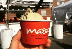 Taste of Elmwood Park attendees can enjoy a cup of award winning gelato from Massa Cafe Italiano. Credit: via Taste of Elmwood Park