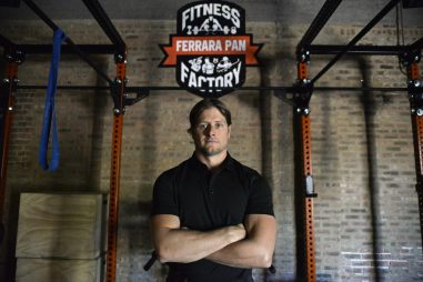 Nello Ferrara, owner of Ferrara Pan Fitness, has been donating extra supplies, such as toilet paper and hand sanitizer, that he doesn't need since his gym has temporarily closed. | File photo